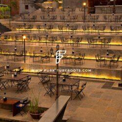 Bespoke Brewpub Furniture Project By FurnitureRoots Byg Brewski Open Air Pub Bengaluru 6