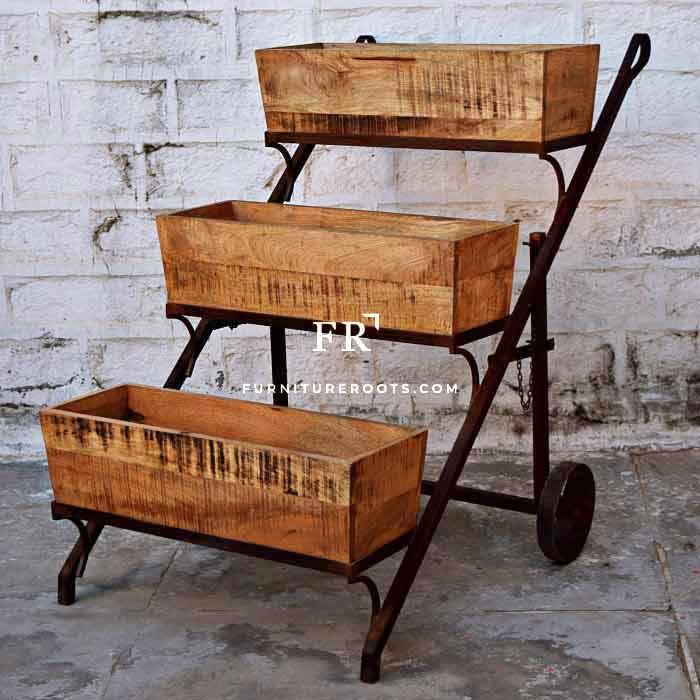 Esoteric Indian Hand-Cart Display