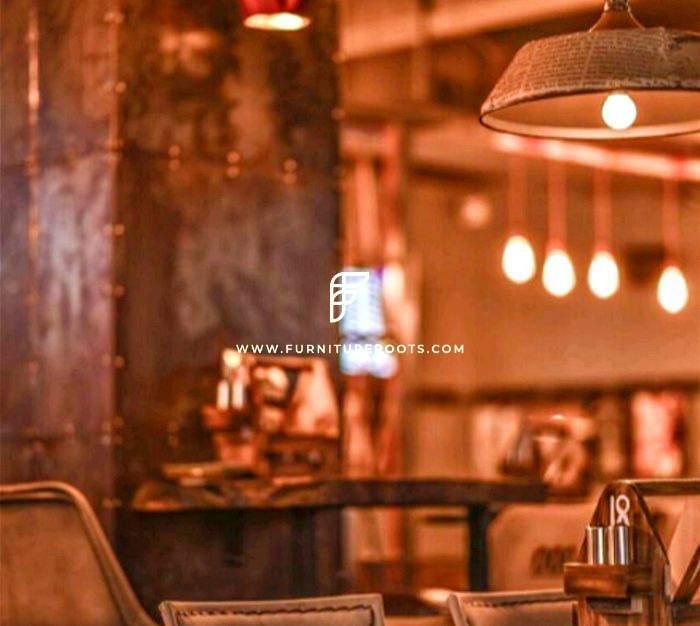 Proyecto de muebles de bistró a medida de FurnitureRoots Bulls & Bears, Guwahati 1
