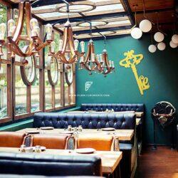 Bespoke Resto Pub Furniture Project By FurnitureRoots Leather Resto Pub Sofas Little Easy, Mumbai
