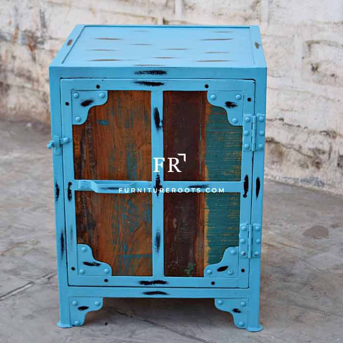 Distress Recycled Sidetable