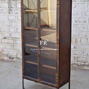 Rare-Edition Glass Hotel Wardrobe