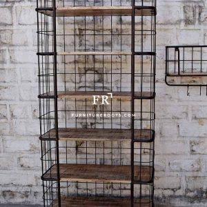 Industrial Retro Bookcase