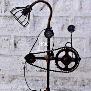Pipe & Gauge Lamp