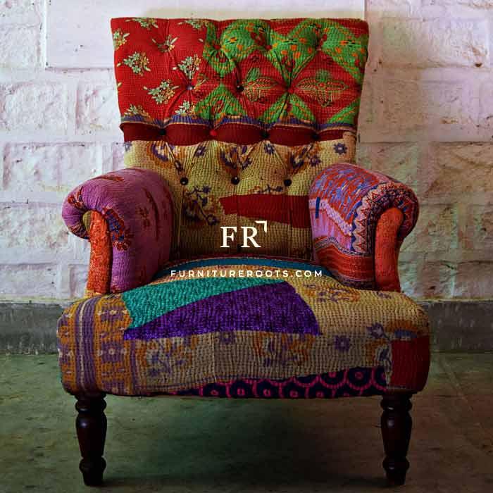 Ethnic Indian Lawson Sofa