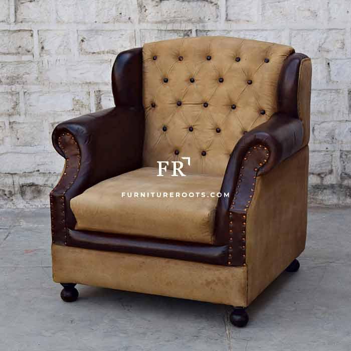 Designer Dual Tone Armchair – Designer Armchairs | FurnitureRoots
