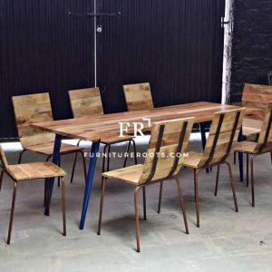 Master-Crafted Metal Dining Set