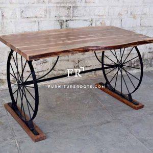 Rare Live Edge Table – Designer Bar & Cafeteria Tables | FurnitureRoots