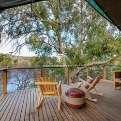 Außenbeleuchtung & Terrassenmöbel für Lodge-Hotels