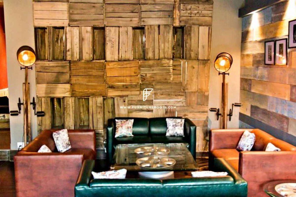 Proyecto de muebles de restaurante de jardín al aire libre a medida por FurnitureRoots Pitbrew 1