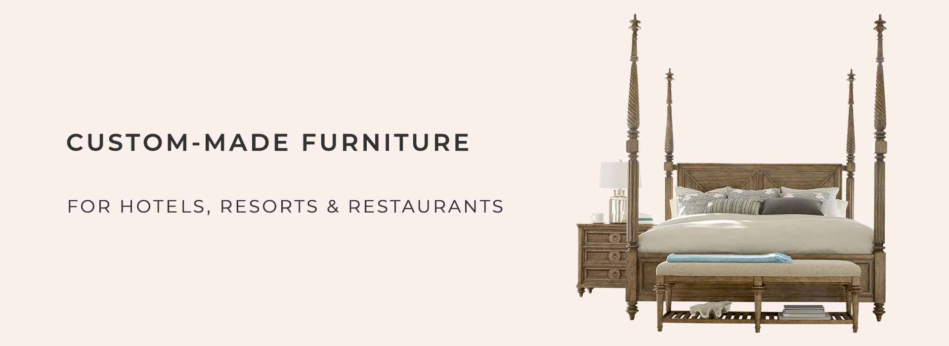FurnitureRoots is a Bespoke Hotel & Resort and Restaurant Bar & Cafe Furniture Manufacturer & Exporter