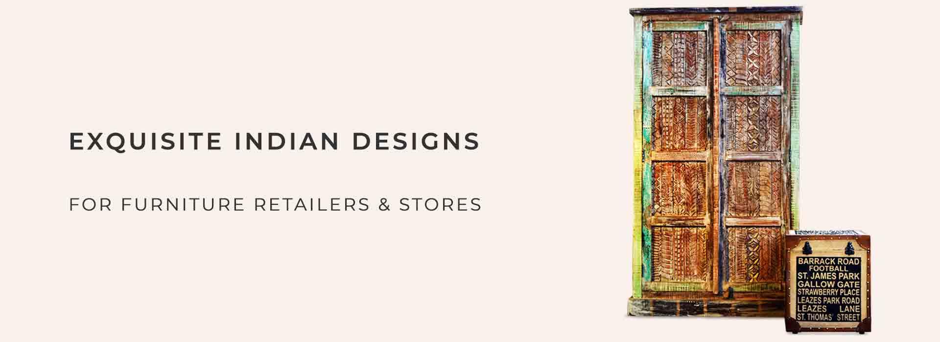 FurnitureRoots è un esportatore indiano produttore di mobili per negozi di mobili globali e catene di mobili