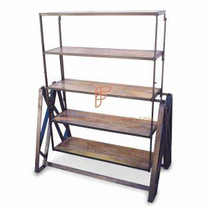 Eccentric Bookcase-cum-Table