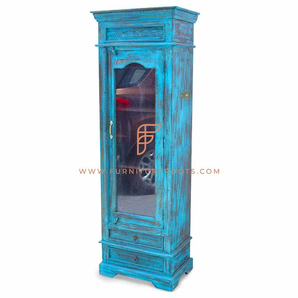 Old-Age Single Door Display Unit