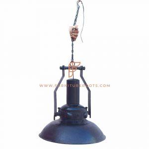 Lámpara colgante de la época victoriana