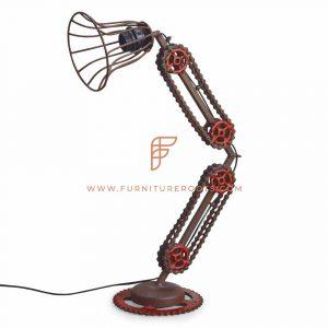 Lámpara de pared de metal mecánico