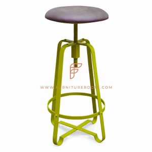 Chic Barstool in Leather