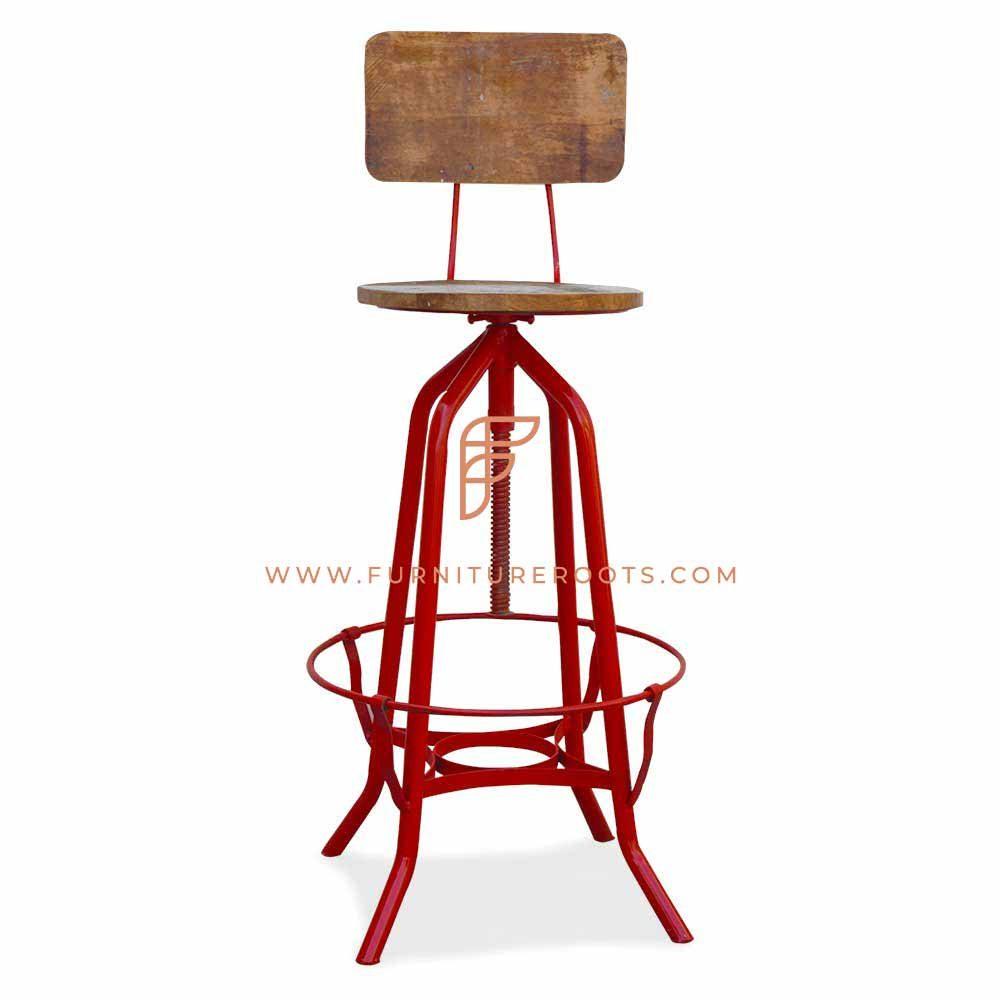 Eclectic Pub Chair