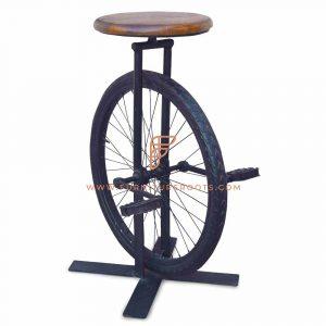 Tabouret de roue de cycle inestimable