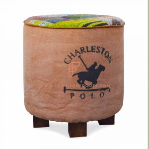 Polo Canvas Footstool