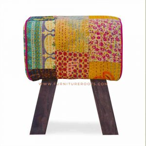 Treasure Multicolored Pouf