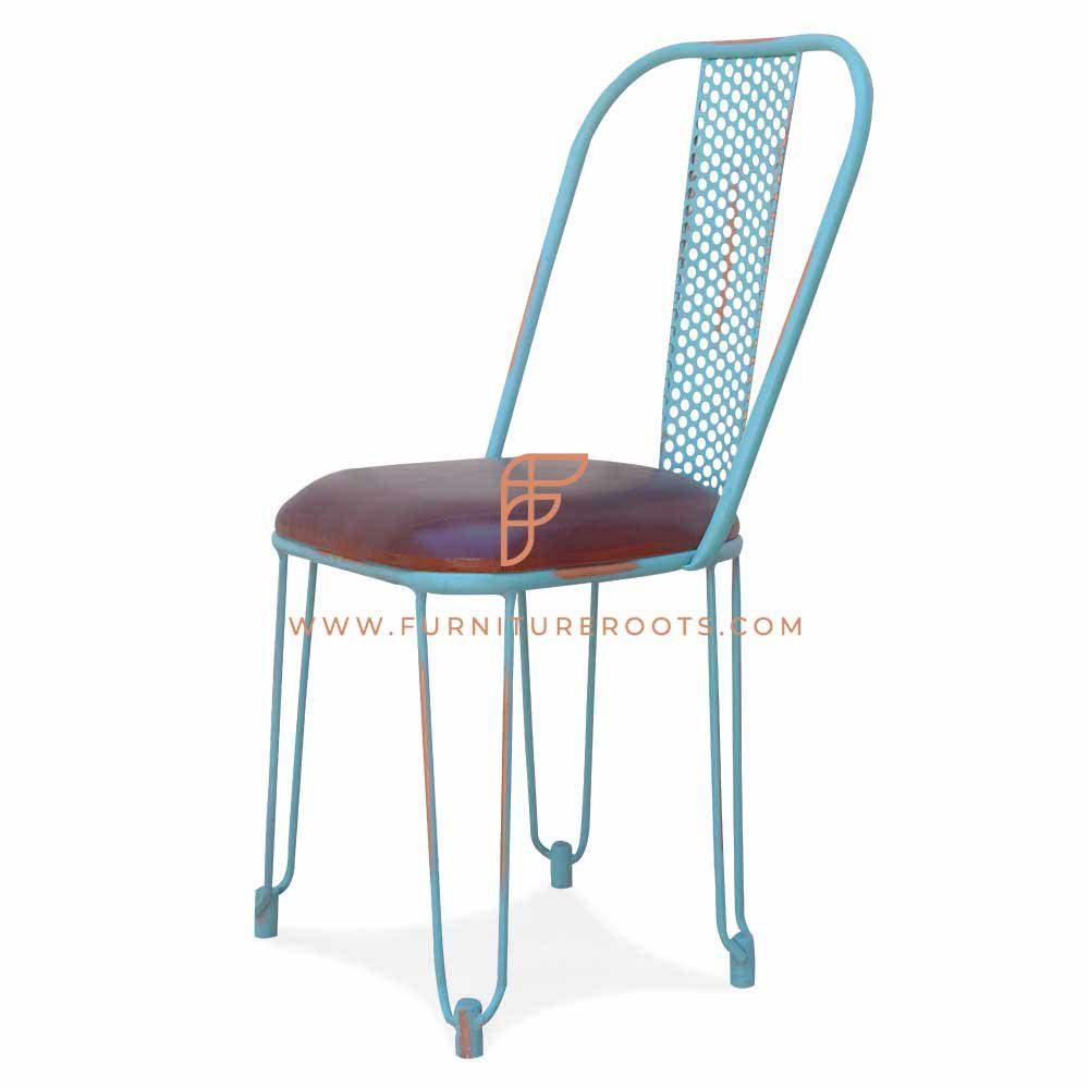 English Cottage Metal Chair