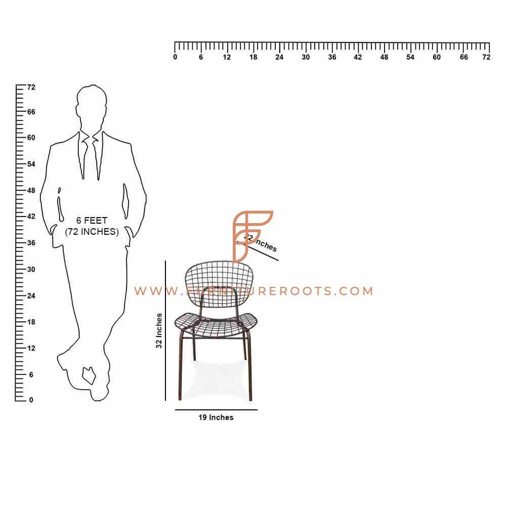 Even Lasting Metal Outdoor Chair
