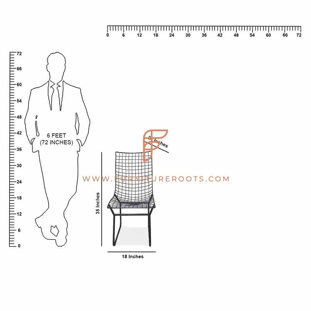 Металлическое кресло для отдыха Dura-Build