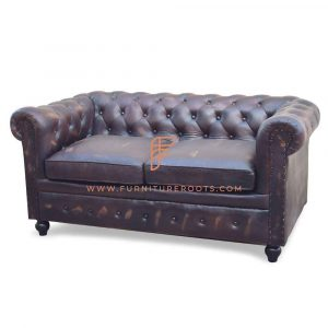 Art Nouveau Chesterfield Sofa