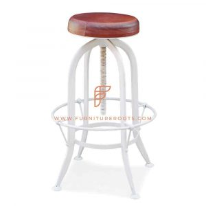 Height Adjustable Drafting Pub Stool