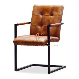 Post Modern Leather Office Chair