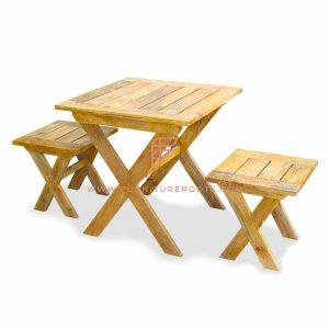 Conjunto de jantar de madeira mais vendido