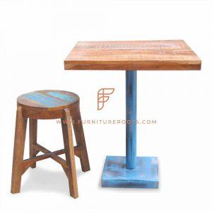 Combo de muebles de patio de comidas artesanales