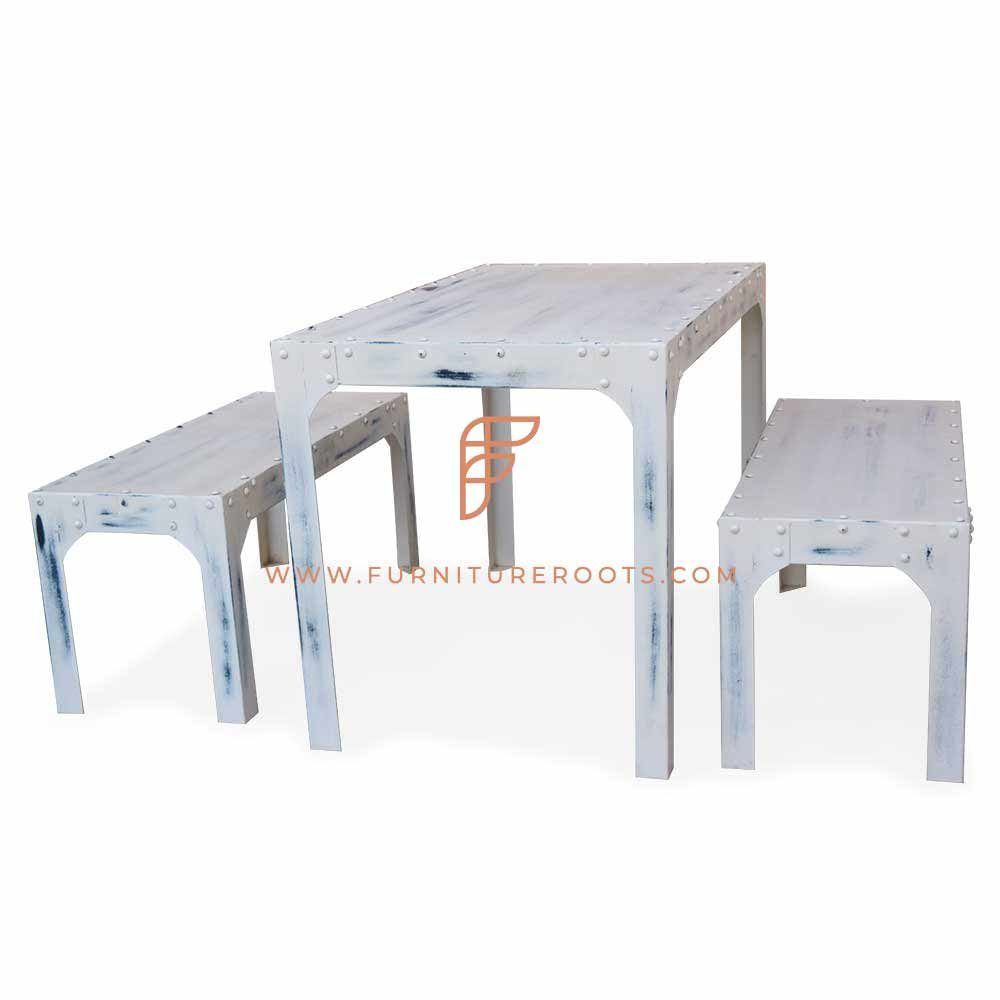 French Provincial Metal Dining Set