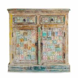 Shabby Chic Distress Cabinet
