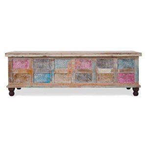 Print Block Wooden Cabinet