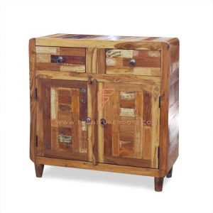 Cabinet Series Parquet Sideboard With 2 Doors & 2 Drawers