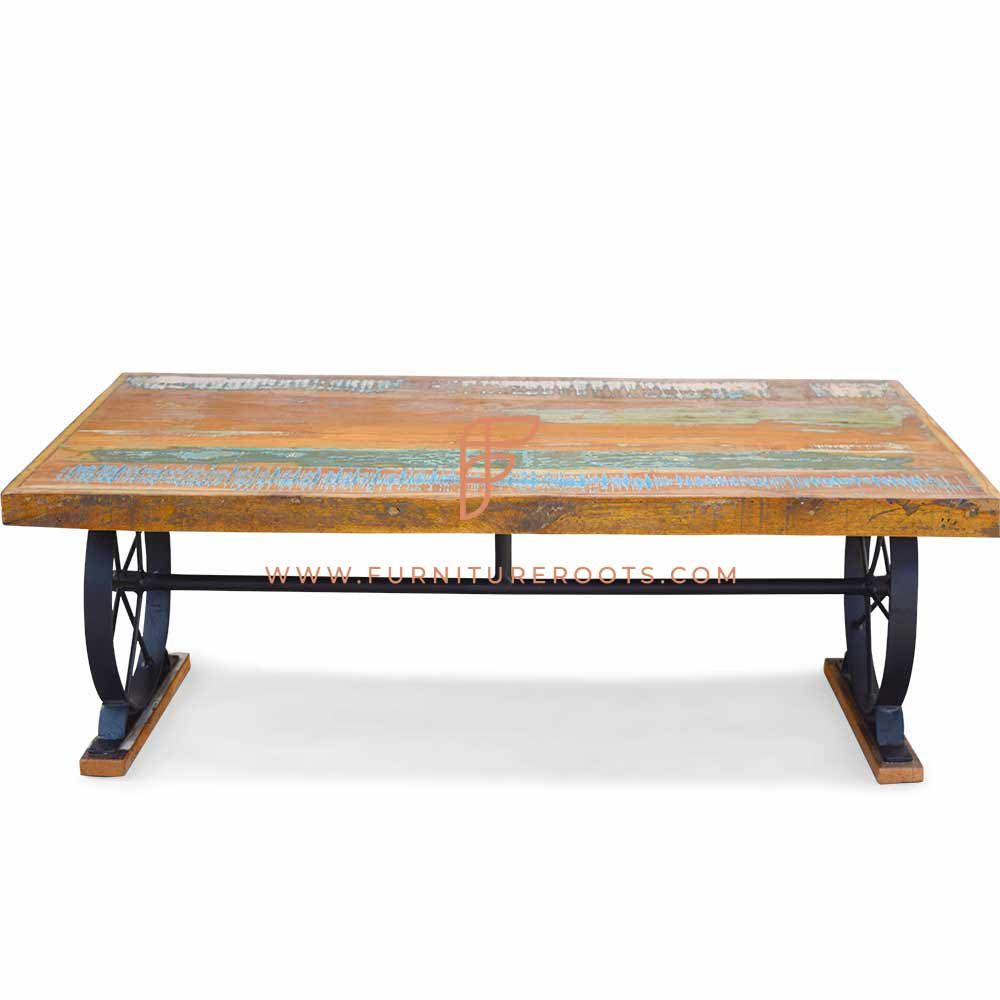 Refined Reclaimed Center Table