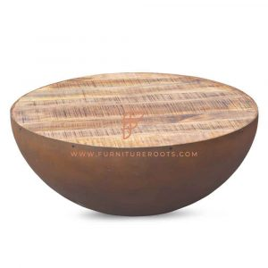 Rustic Aara Finish Coffee Table