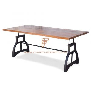 Rock-Solid Casting Folding Table