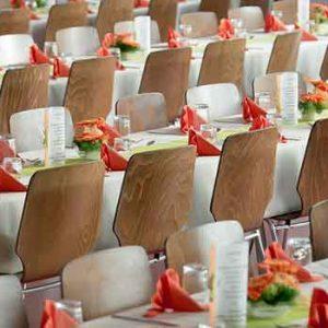 Bankett-Stühle