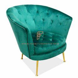 velvet tub chair for restuarants and cafes