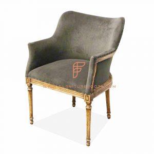 chaise en tissu cousu pour cafés
