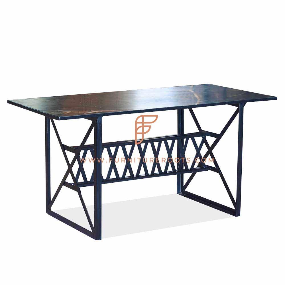 cast iron restaurant outdoor table