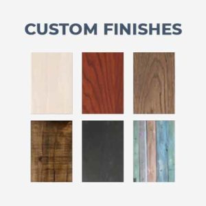 Custom Wood Finishes and Stains