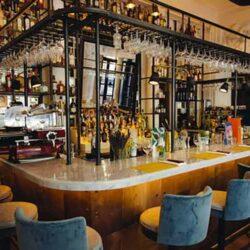 Industriële Bar Cafe Counter