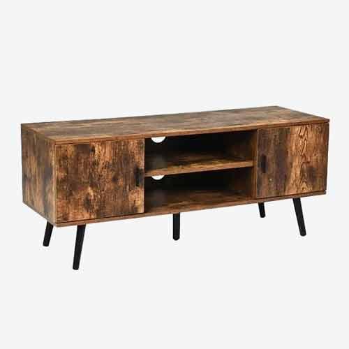 distress wood TV cabinet