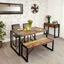 Muebles de madera recuperada: fabricante y proveedor mayorista