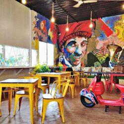 Cafe Furniture Project door FurnitureRoots in Pune