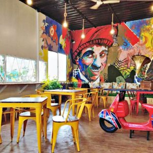 Cafe Furniture Project By FurnitureRoots in Pune